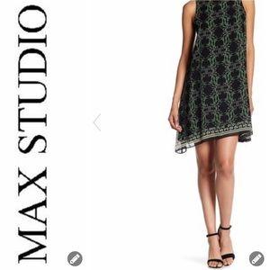 NWT Max Studio Crepe Shift Dress